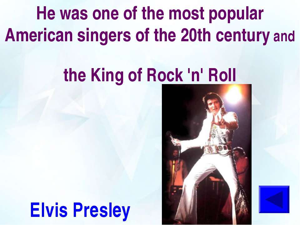 He was one of the most popular American singers of the 20th century and the K...
