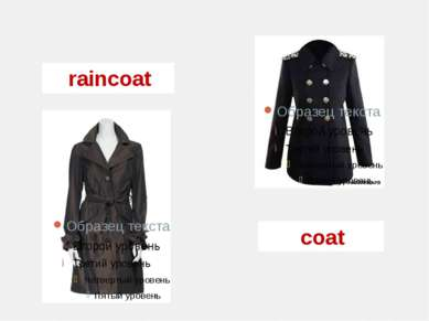 raincoat coat