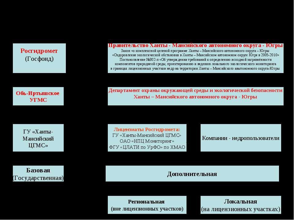 Функционирование региональной системы экологического мониторинга Росгидромет ...