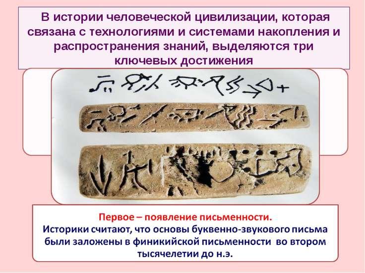 В истории человеческой цивилизации, которая связана с технологиями и системам...