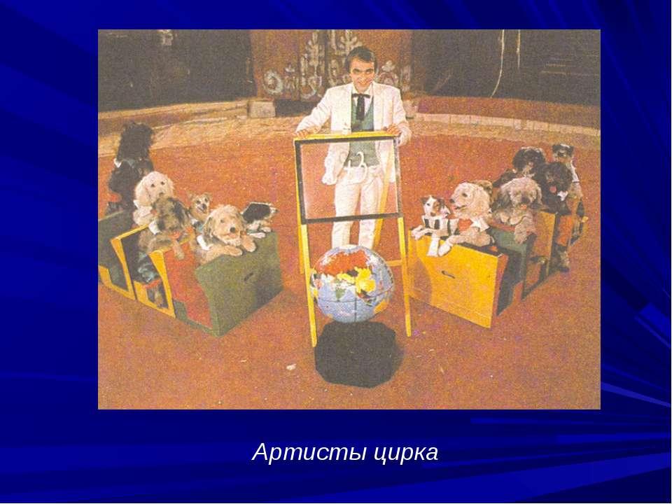 Артисты цирка