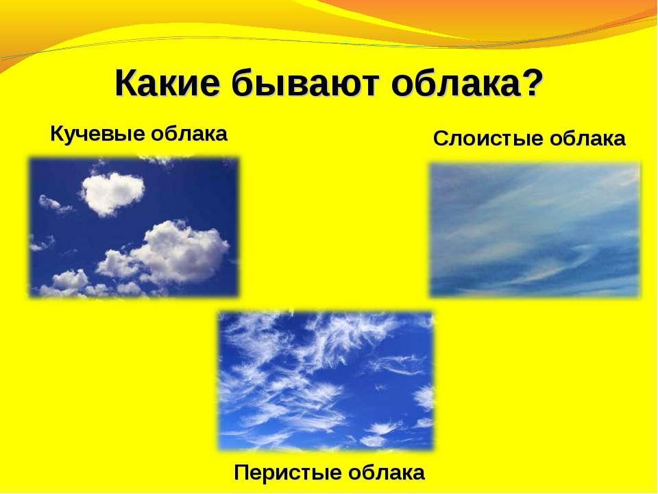 Кучевые облака Кучевые облака