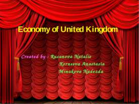 Economy of United Kingdom