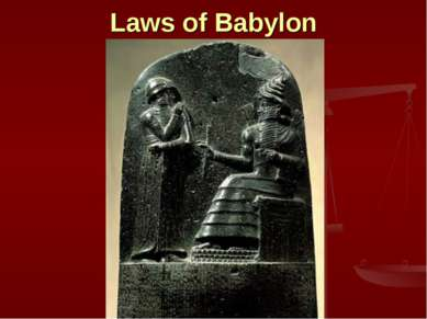 Laws of Babylon