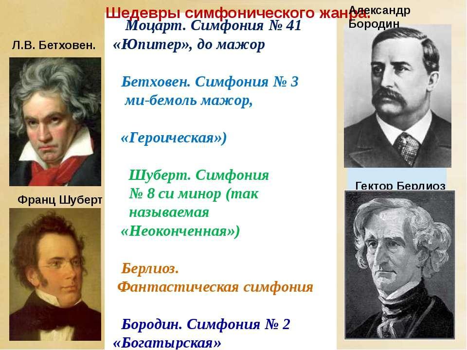 Моцарт. Симфония № 41 «Юпитер», до мажор Бетховен. Симфония № 3 ми-бемоль маж...