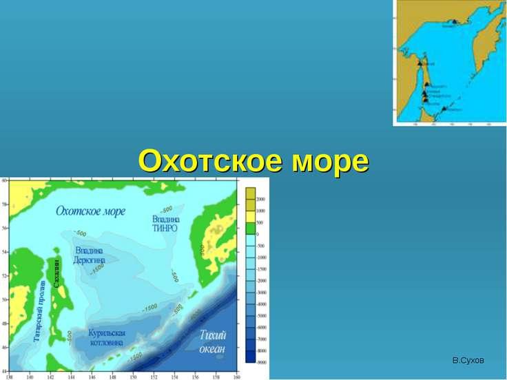 Охотское море В.Сухов