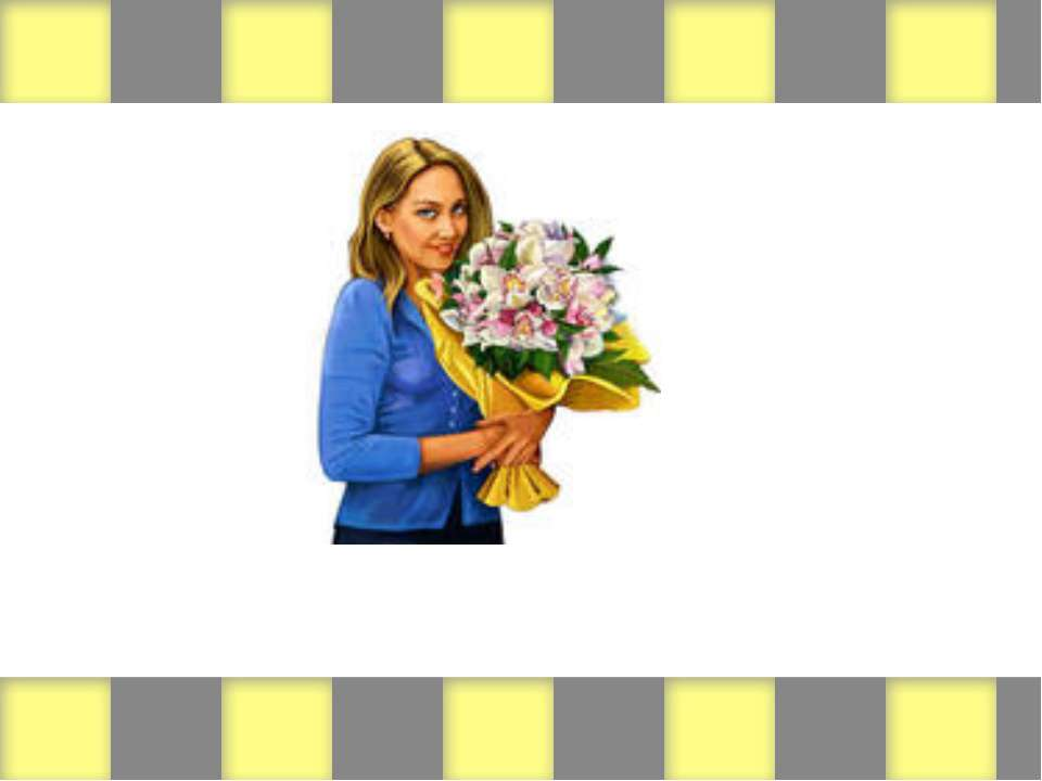 (woman/flowers)
