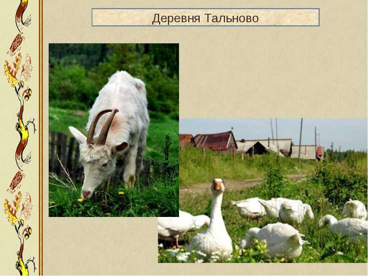 Деревня Тальново