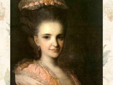Портрет неизвестной в розовом платье. 1770-е гг. ГТГ