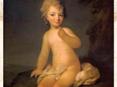 Обнаженная девочка. 1780-е гг. ГРМ