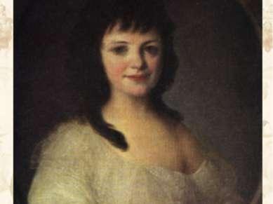 Портрет графини П.А. Воронцовой. Начало 1790-х гг. ГРМ