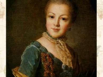 Портрет княжны Е.Б. Юсуповой Конец 1750-х — начало 1760-х гг. ГРМ