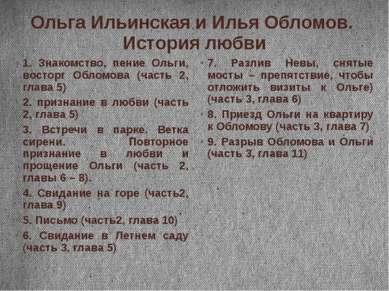 Ольга Ильинская и Илья Обломов. История любви 1. Знакомство, пение Ольги, вос...