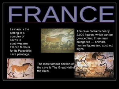 Lascaux is the setting of a complex of caves in southwestern France famous fo...