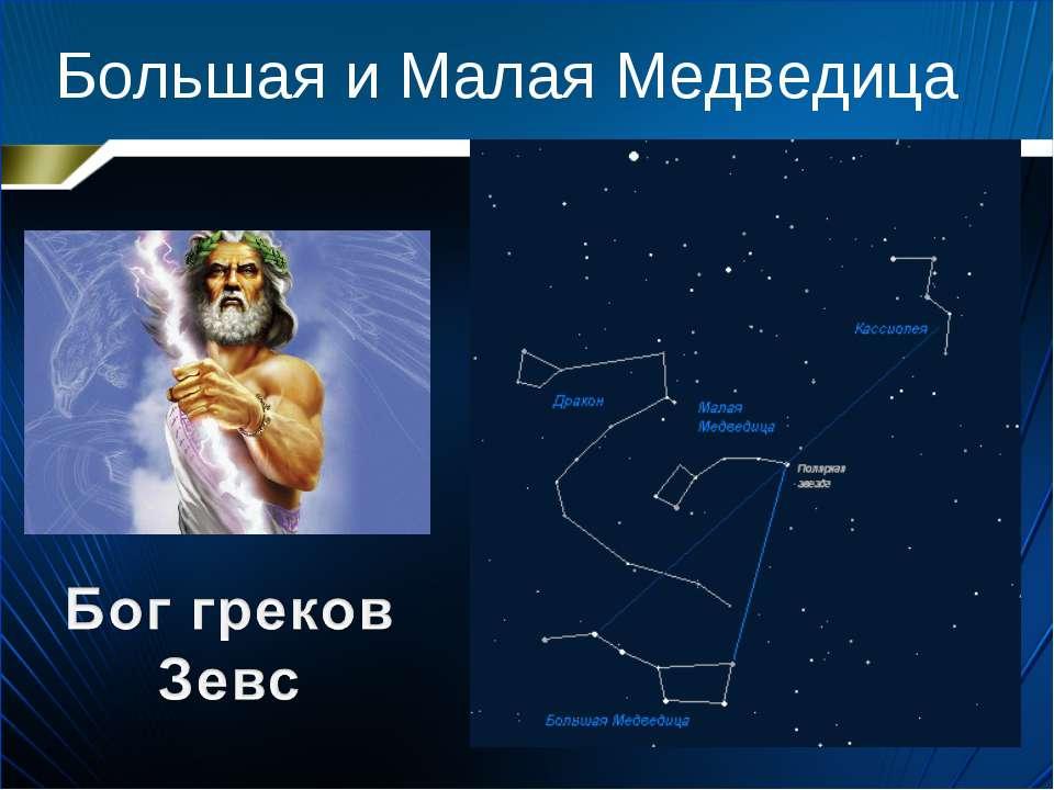 Большая и Малая Медведица