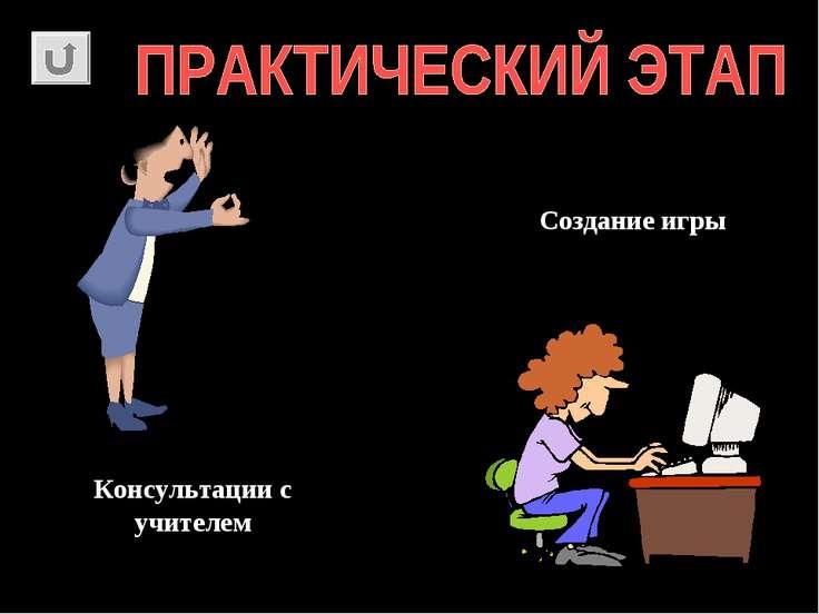 Консультации с учителем Создание игры