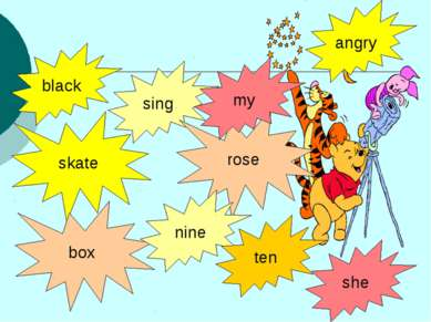 black skate sing box rose nine ten she angry my