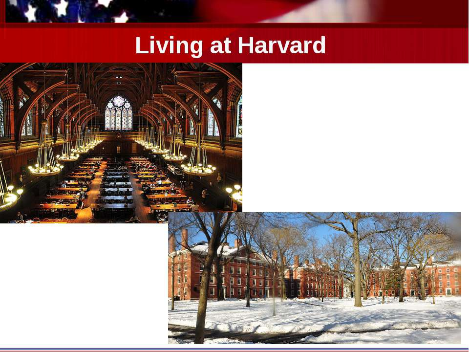 Living at Harvard