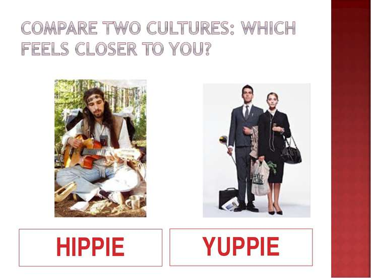 comparing two cultures
