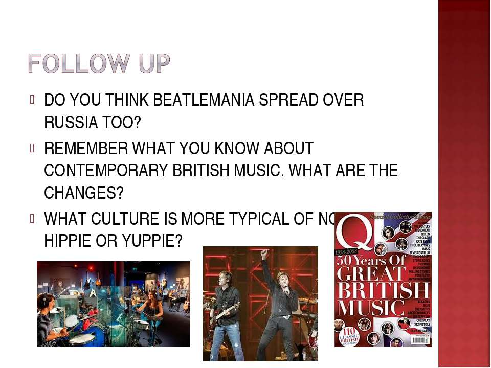 DO YOU THINK BEATLEMANIA SPREAD OVER RUSSIA TOO? REMEMBER WHAT YOU KNOW ABOUT...