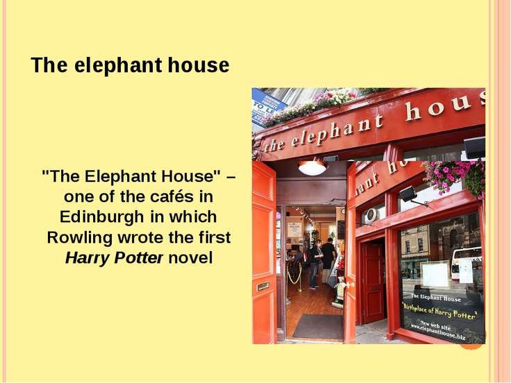"The elephant house ""The Elephant House"" – one of the cafés in Edinburgh in wh..."