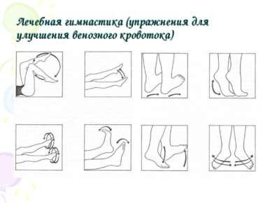Лечебная гимнастика (упражнения для улучшения венозного кровотока)
