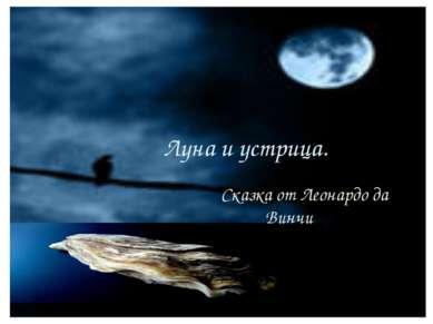 Луна и устрица. Сказка от Леонардо да Винчи