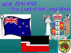 "New zeland: ""The Land of the Long White Cloud"""
