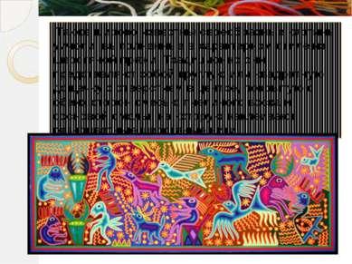 Также широко известны своеобразные картины уичоли, выполненные в характерном ...