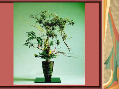 Икэбана, «цветы, которые живут»