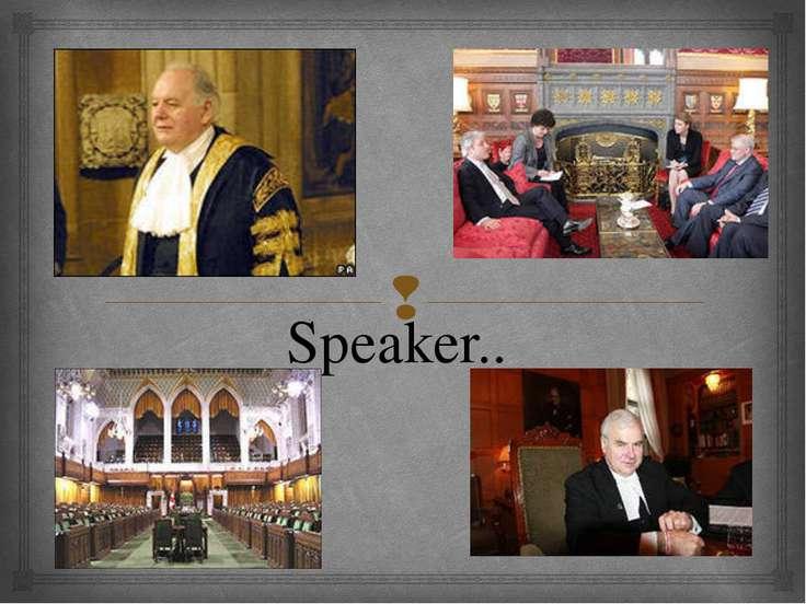 Speaker..