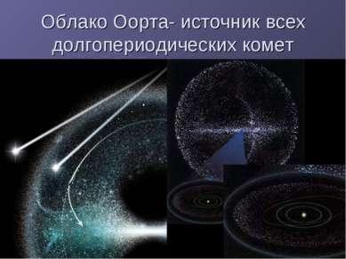 Облако Оорта- источник всех долгопериодических комет