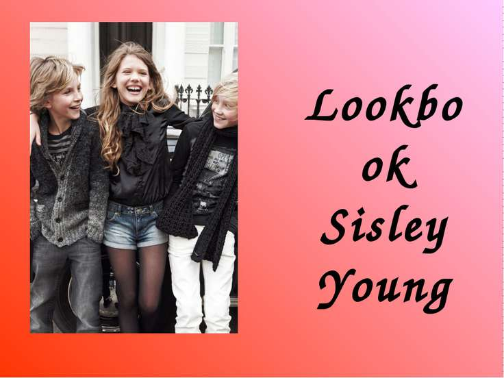 Lookbook Sisley Young