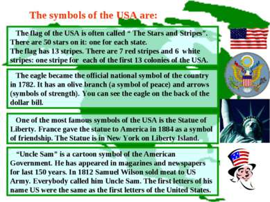 "The flag of the USA is often called "" The Stars and Stripes"". There are 50 st..."