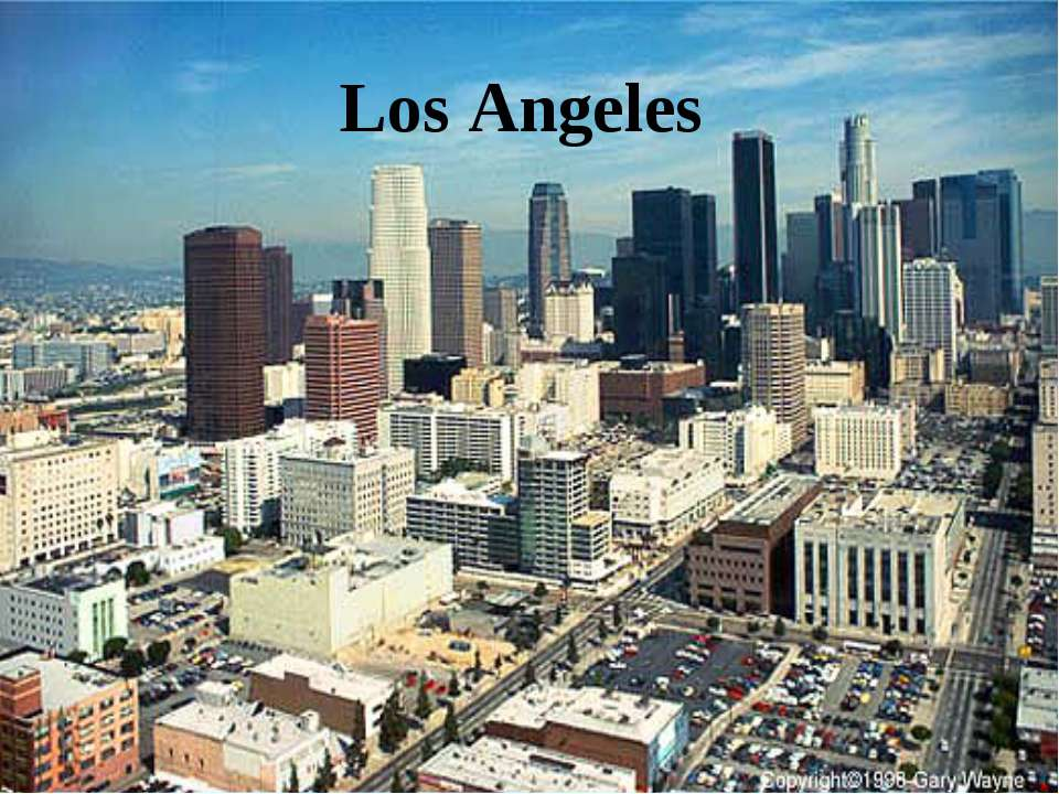 Dating in los angeles geography