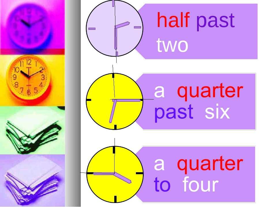 half past two