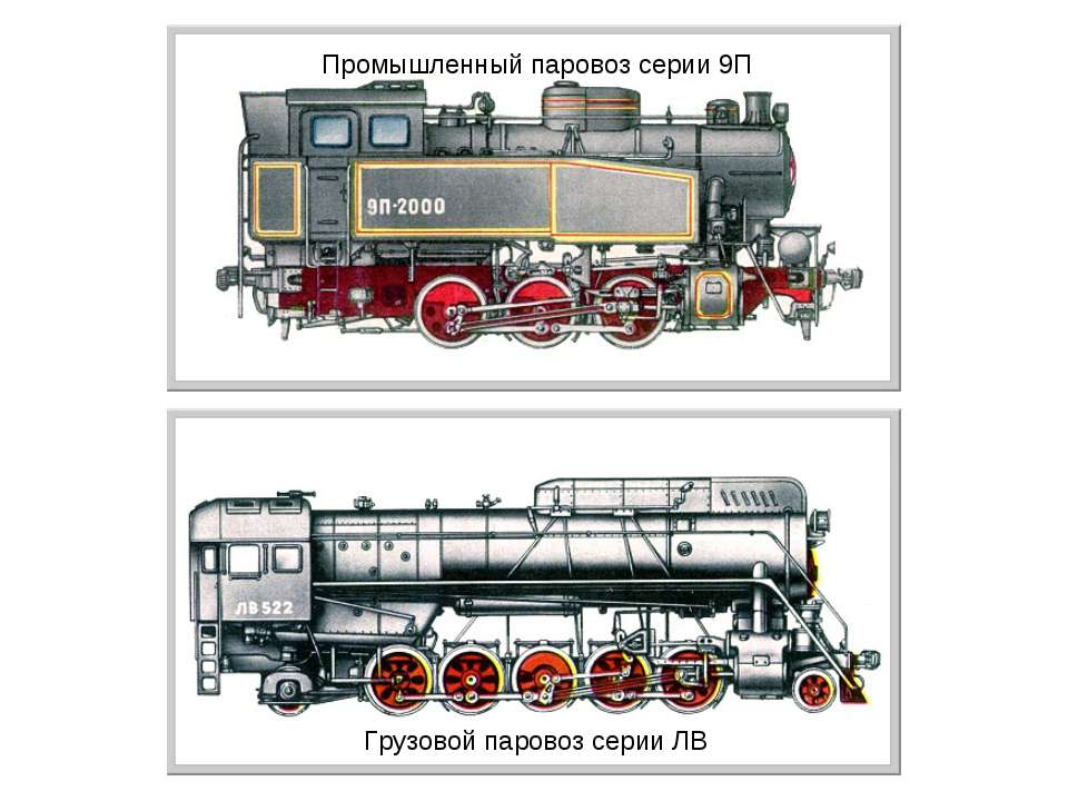 Промышленный паровоз серии 9П Грузовой паровоз серии ЛВ
