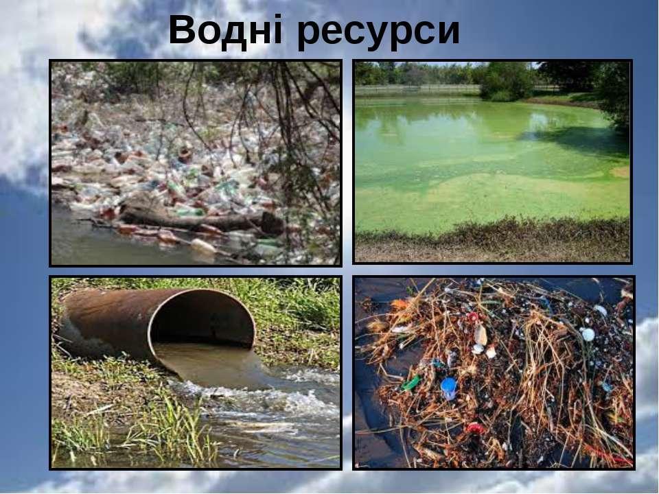 Водні ресурси