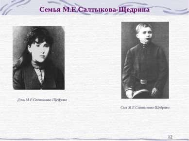 * Семья М.Е.Салтыкова-Щедрина Дочь М.Е.Салтыкова-Щедрина Сын М.Е.Салтыкова-Ще...
