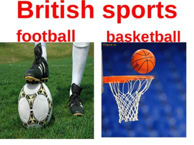 British sports basketball football