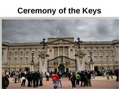 Ceremony of the Keys