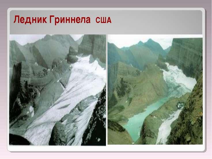 Ледник Гриннела США