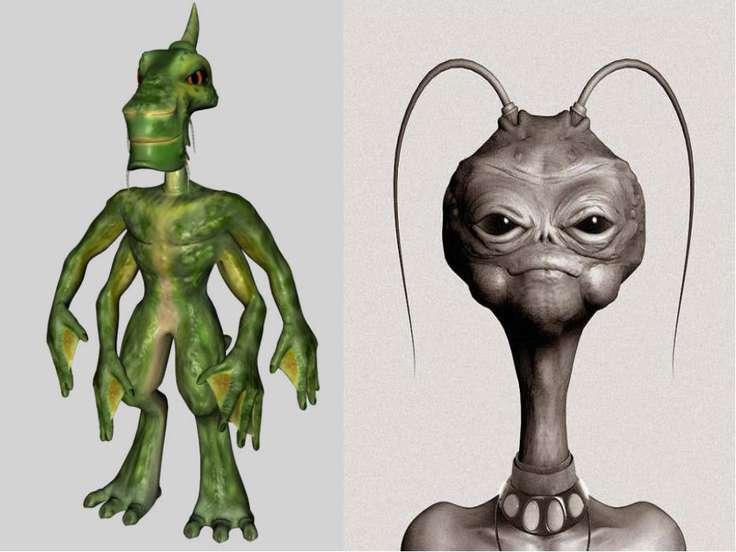 По мнению биологов формы жизни на других планетах могут очень сильно отличать...