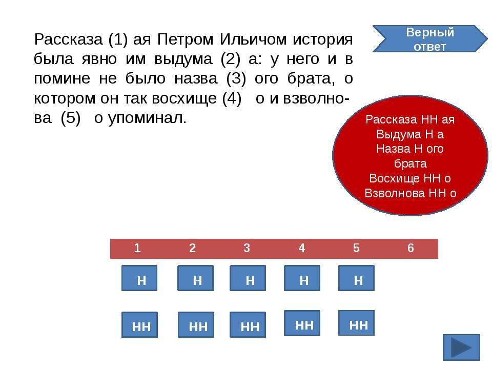 Рассказа (1) ая Петром Ильичом история была явно им выдума (2) а: у него и в ...