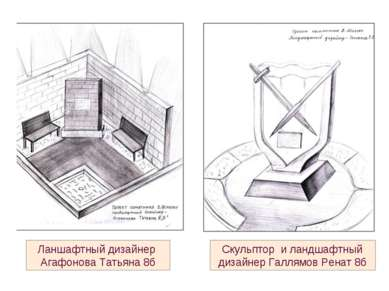 Скульптор и ландшафтный дизайнер Галлямов Ренат 8б Ланшафтный дизайнер Агафон...