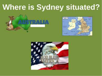 Where is Sydney situated?