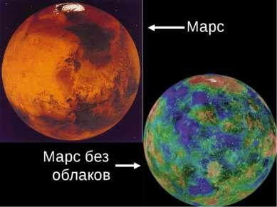 Марс Марс без облаков