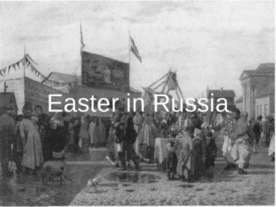 Easter in Russia