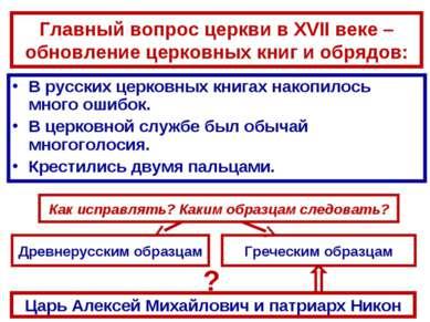 В русских церковных книгах накопилось много ошибок. В русских церковных книга...