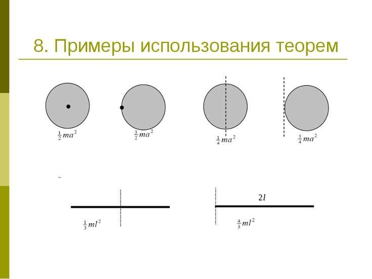 8. Примеры использования теорем